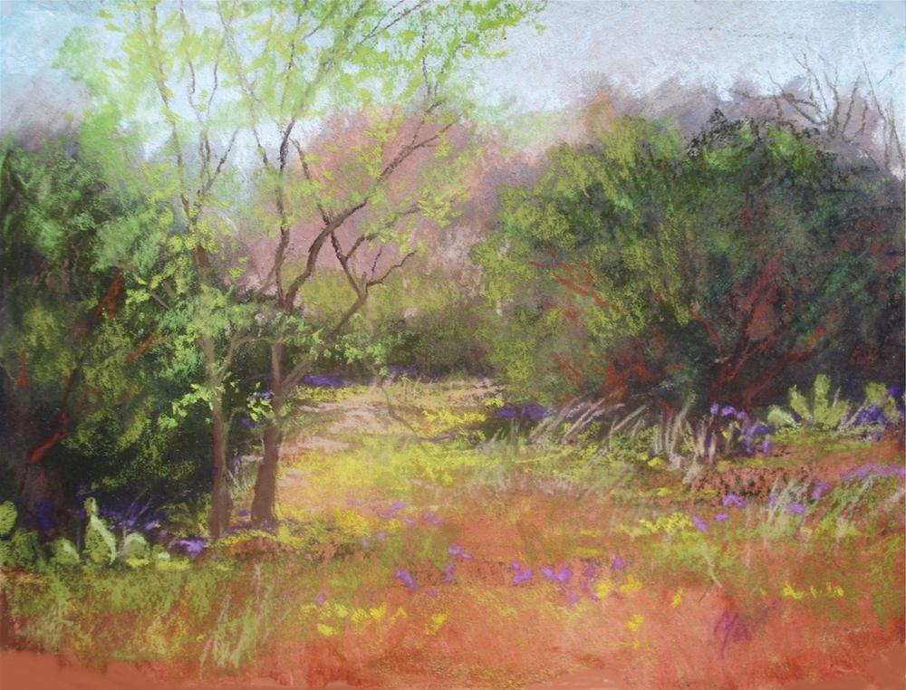 """Glen Rose, Tx."" original fine art by Margie Whittington"