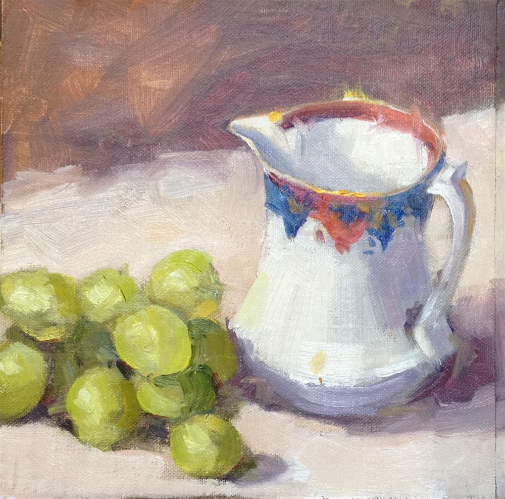 """""""Another try at the Jug"""" original fine art by Mo Teeuw"""