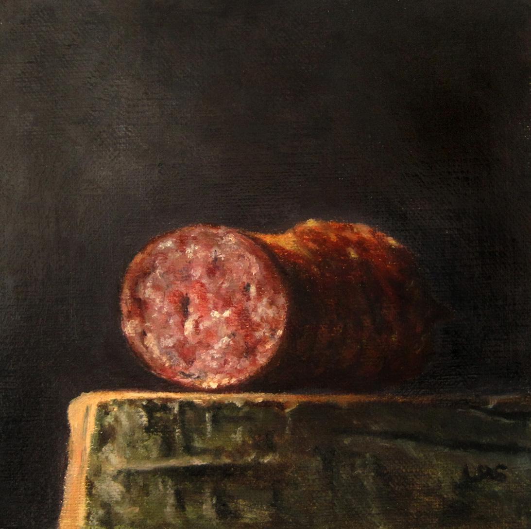 Cabanossi original fine art by Ulrike Miesen-Schuermann