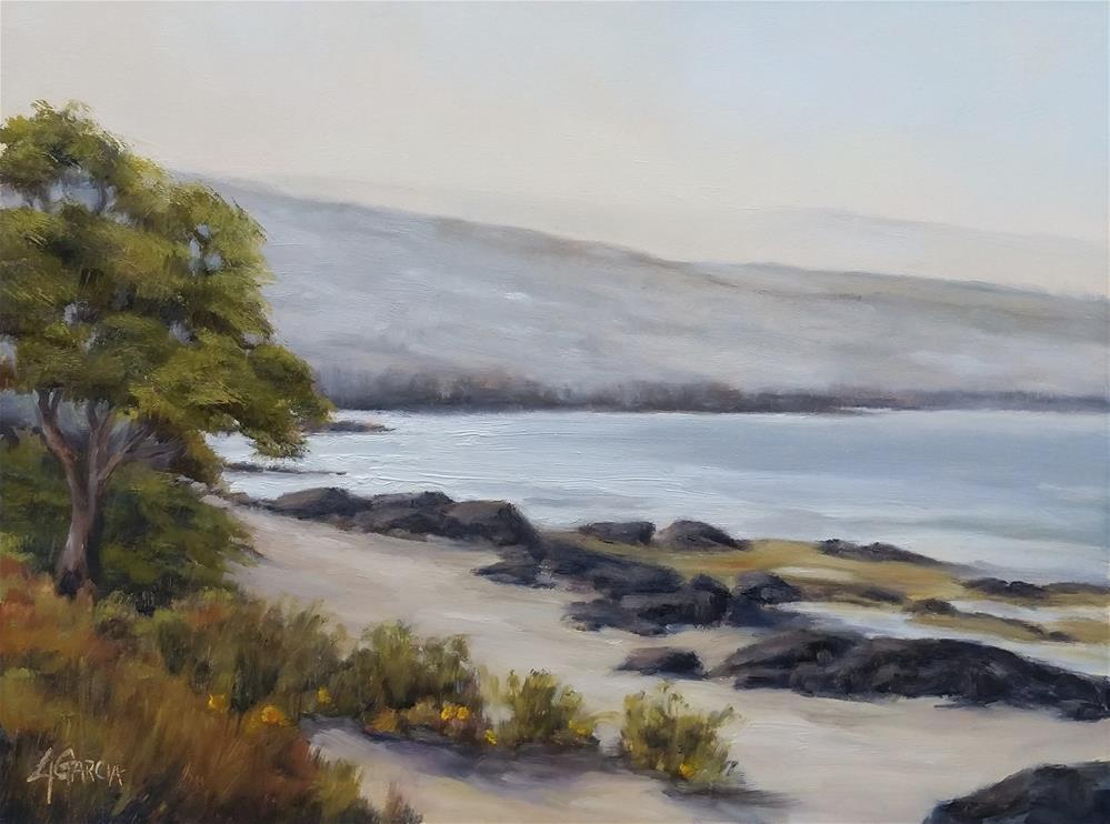 """Morning Gleam"" original fine art by Jeannie Garcia"