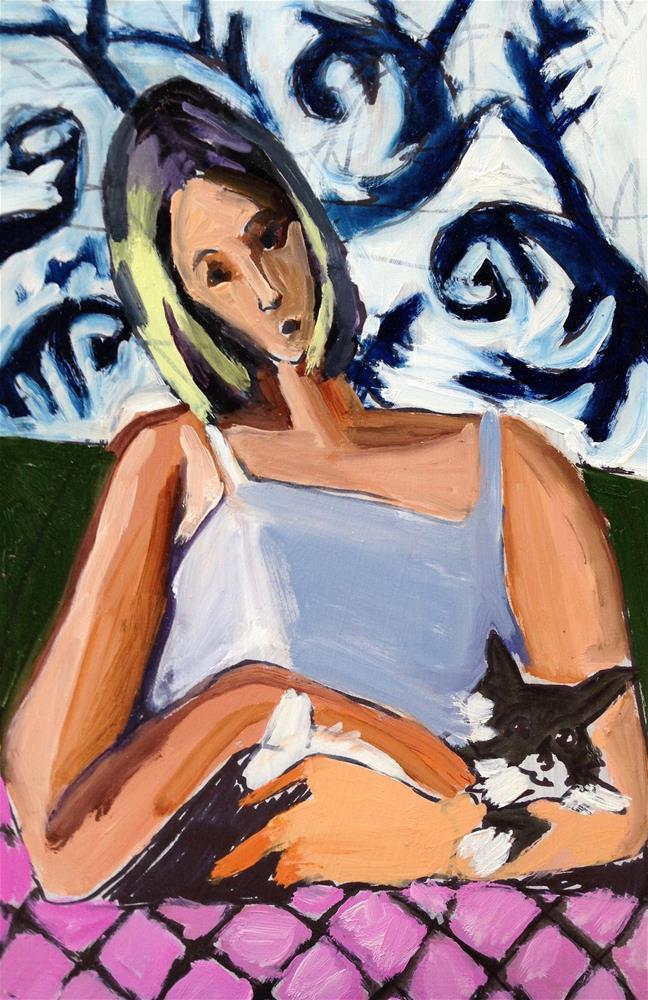 """Marmalade II"" original fine art by Pamela Hoffmeister"