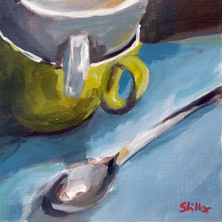 """1815 La Tasse 2"" original fine art by Dietmar Stiller"