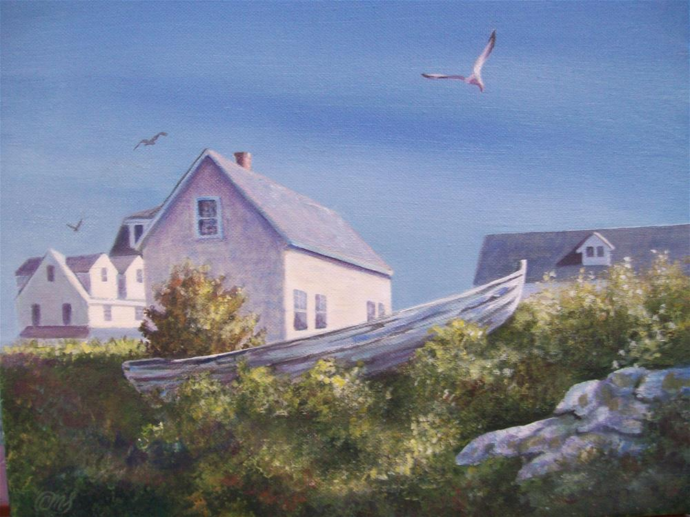"""Star Island, NH"" original fine art by Christine Blain"