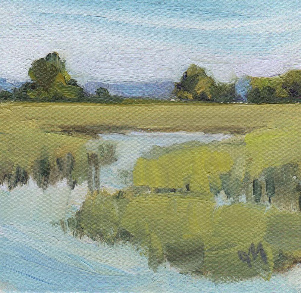 """Mini Marsh"" original fine art by Michel McNinch"