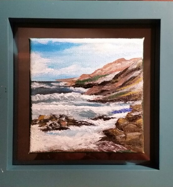 """Precious Moments for Sarah"" original fine art by Susan Belisle"