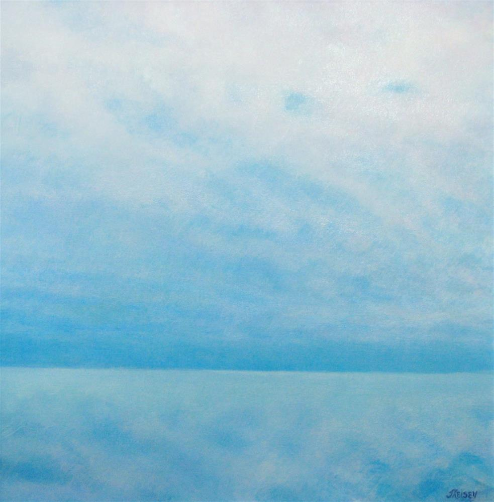 """Blue Horizon"" original fine art by J Kelsey"