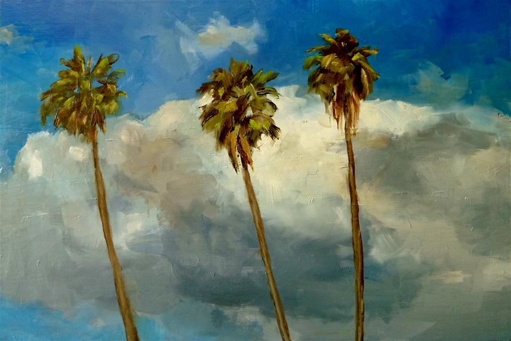 """Hollywood Sky"" original fine art by Gary Bruton"