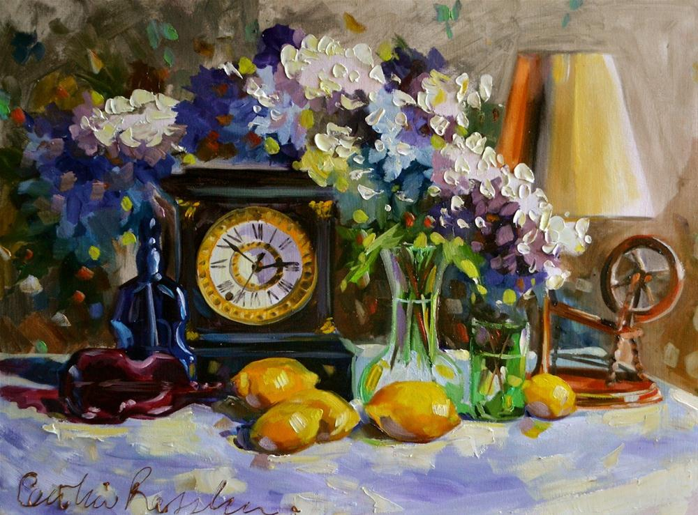 """""""TIME FOR THE WILLIAMS'"""" original fine art by Cecilia Rosslee"""