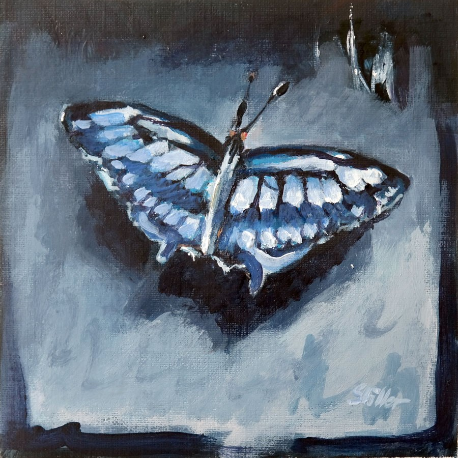 """1785 Butterfly Test"" original fine art by Dietmar Stiller"