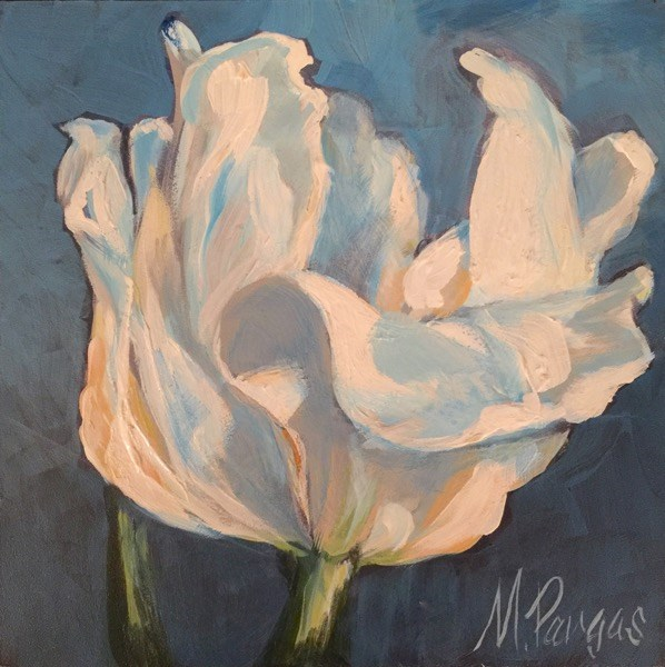 """Tulip For Vincent"" original fine art by Mary Pargas"