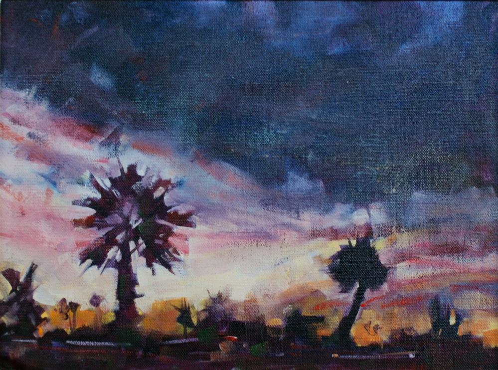 """Oceanside Evening"" original fine art by Brian Buckrell"