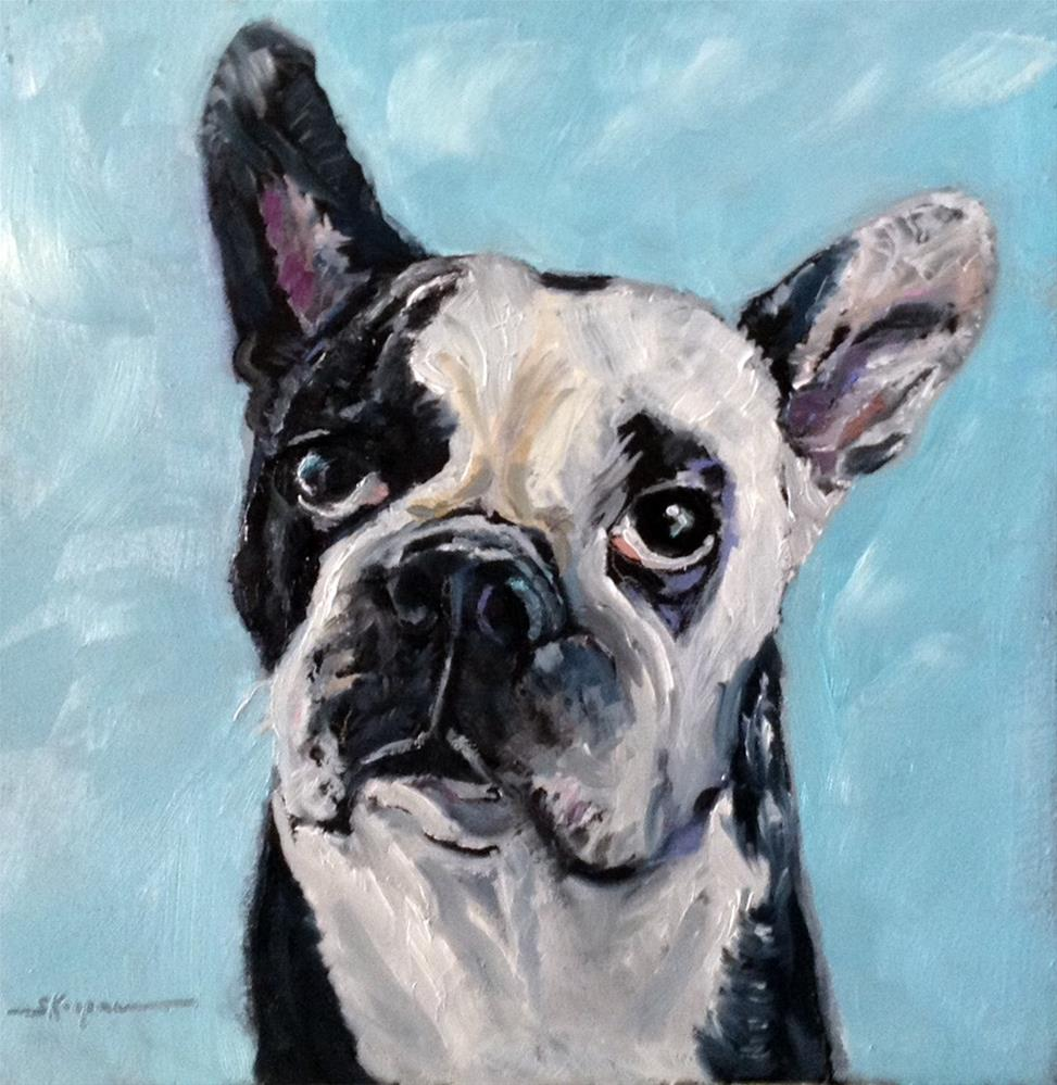 """Roxie"" original fine art by Shelley Koopmann"