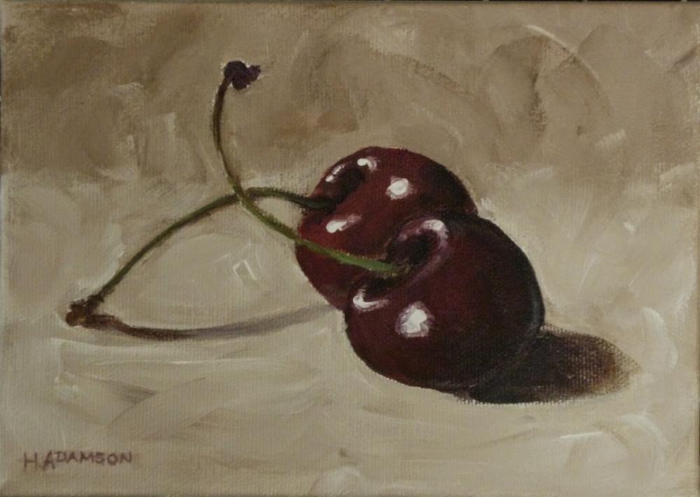 """Two's Company"" original fine art by Helene Adamson"
