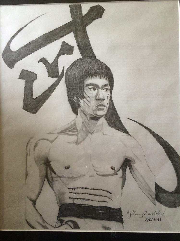 """Bruce Lee"" original fine art by Kenny Arnold"