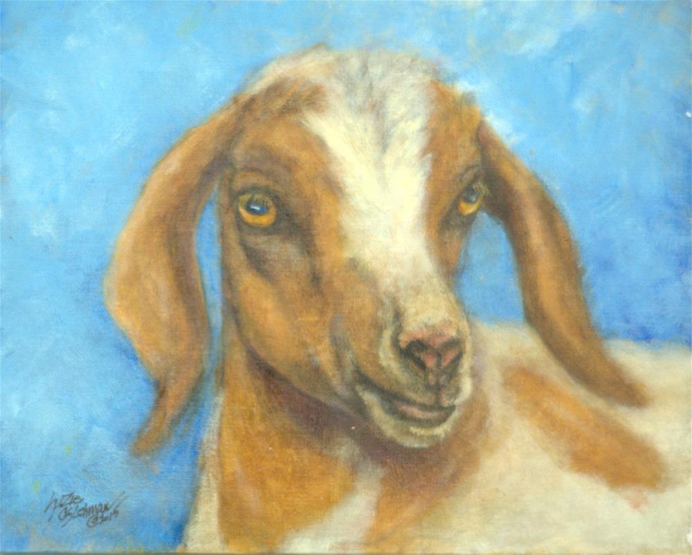 """Mirabella Mira"" original fine art by Carla Ridener"