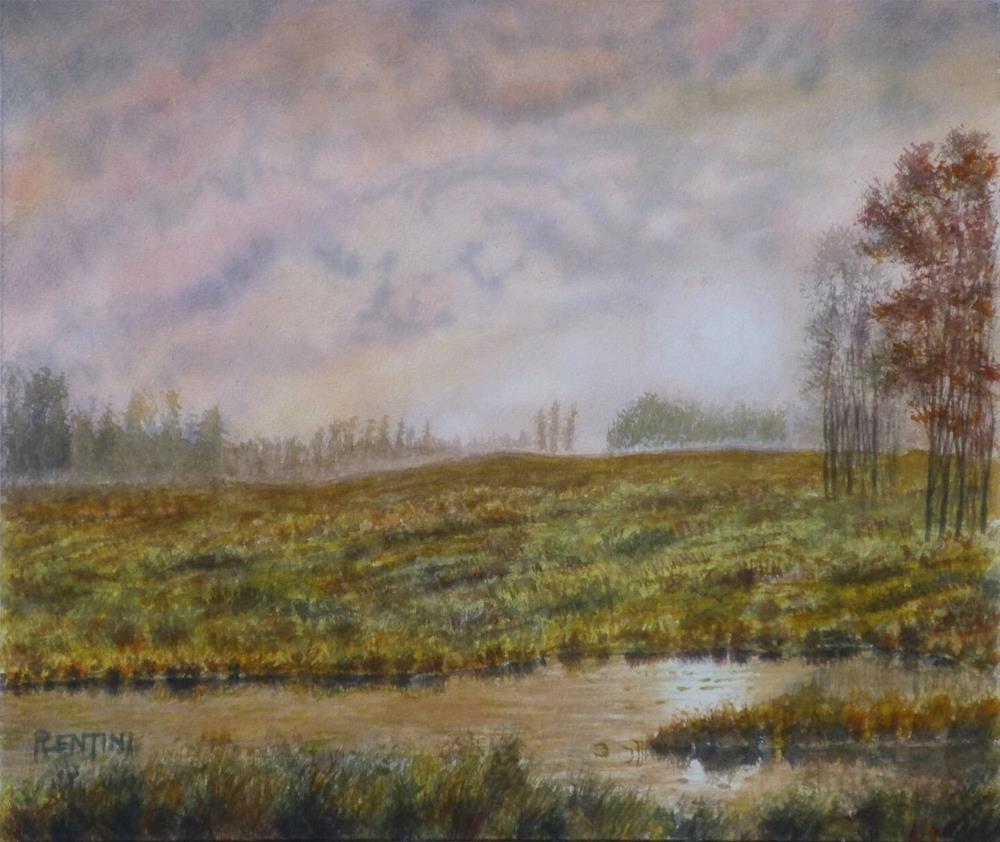 """""""November Morning"""" original fine art by Peter Lentini"""