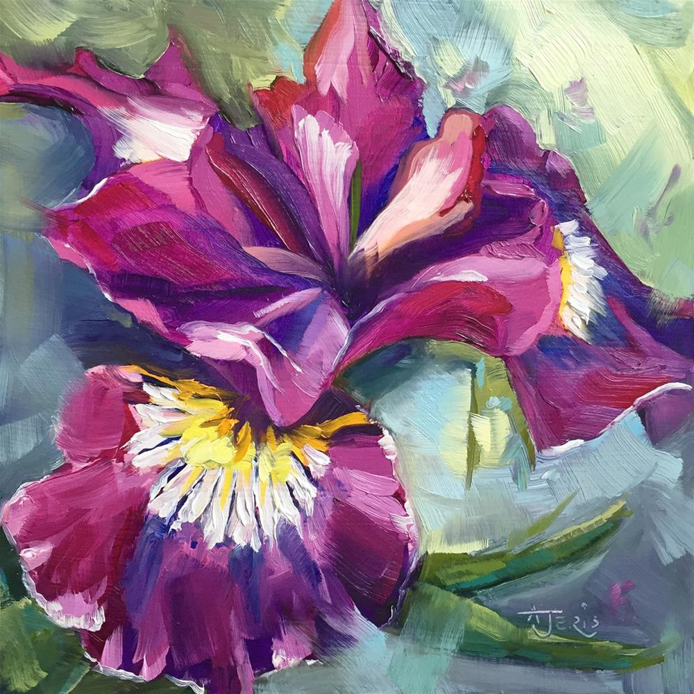 """Iris"" original fine art by Andrea Jeris"