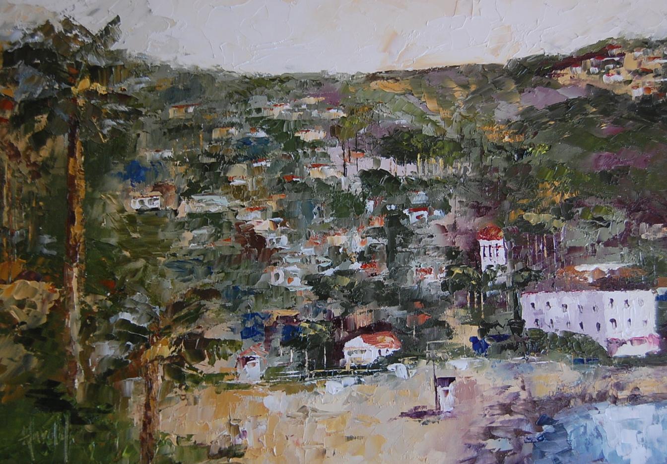 """Laguna BEach"" original fine art by Deborah Harold"