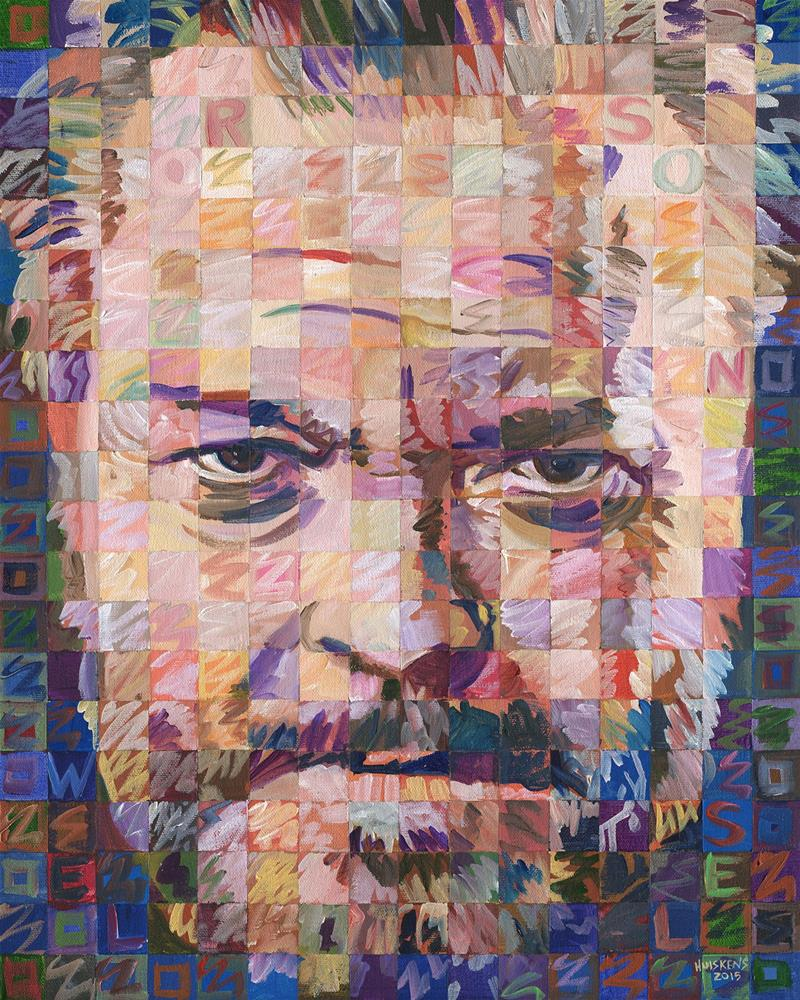"""Orson Welles"" original fine art by Randal Huiskens"