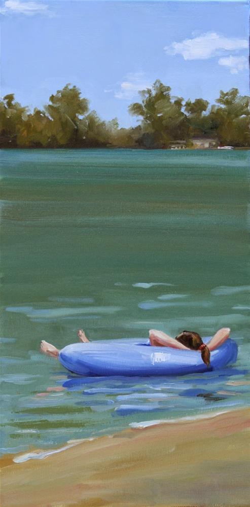 """""""easy silence"""" original fine art by Carol Carmichael"""