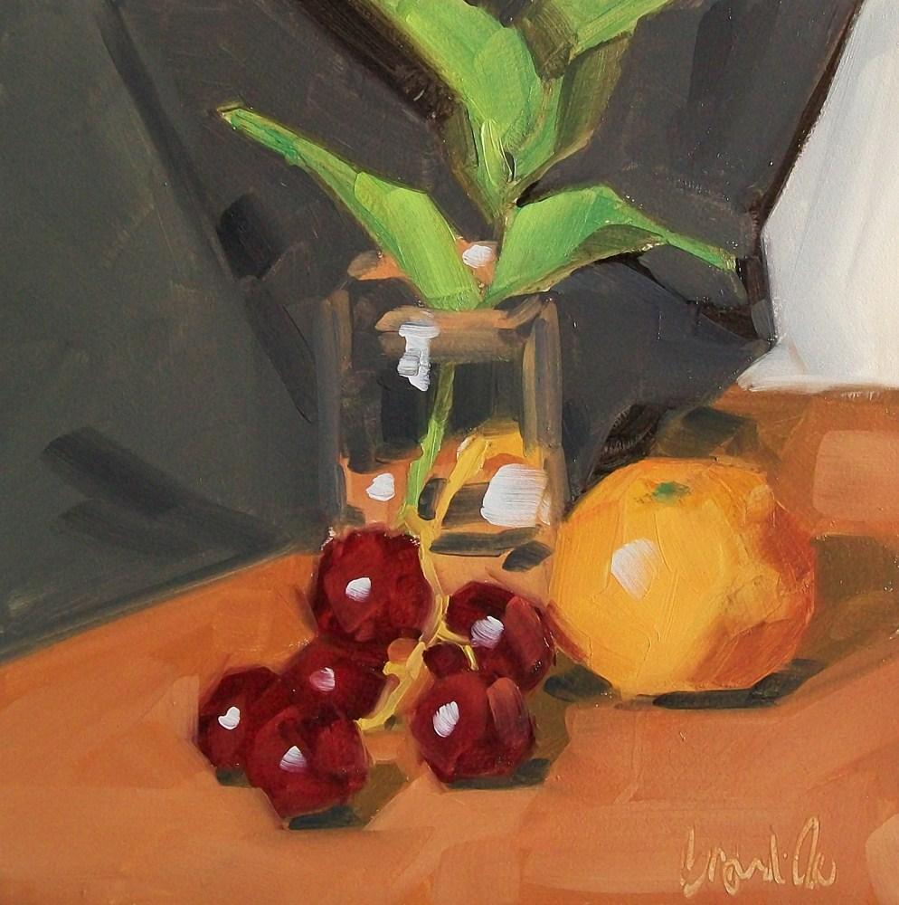 """Scrumptious"" original fine art by Brandi Bowman"
