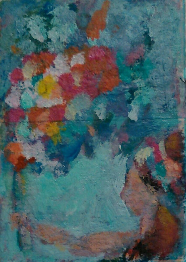 """Big Bouquet"" original fine art by Ann Rudd"
