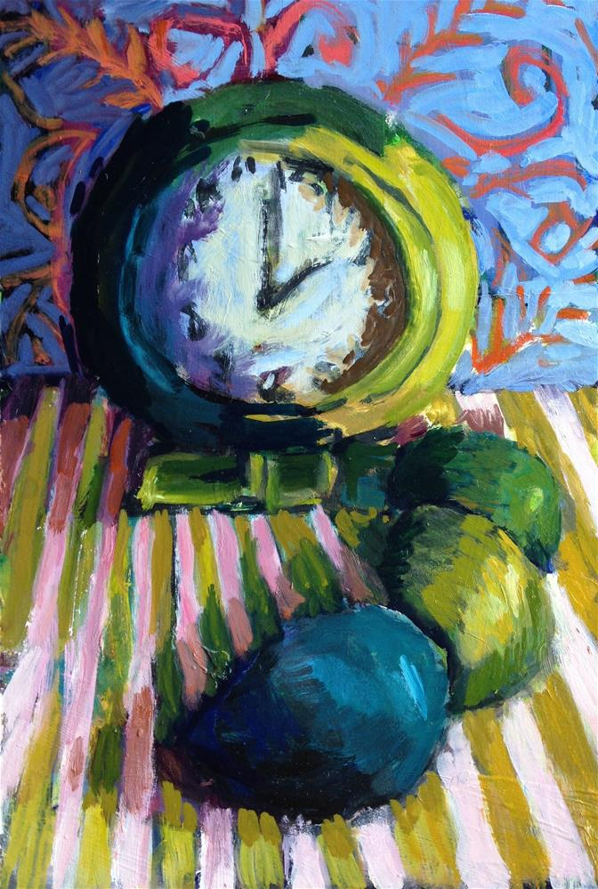 """I'm Gonna Eat More Avocados"" original fine art by Pamela Hoffmeister"