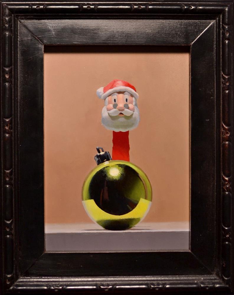 """Holiday Reflections"" original fine art by Brian Burt"