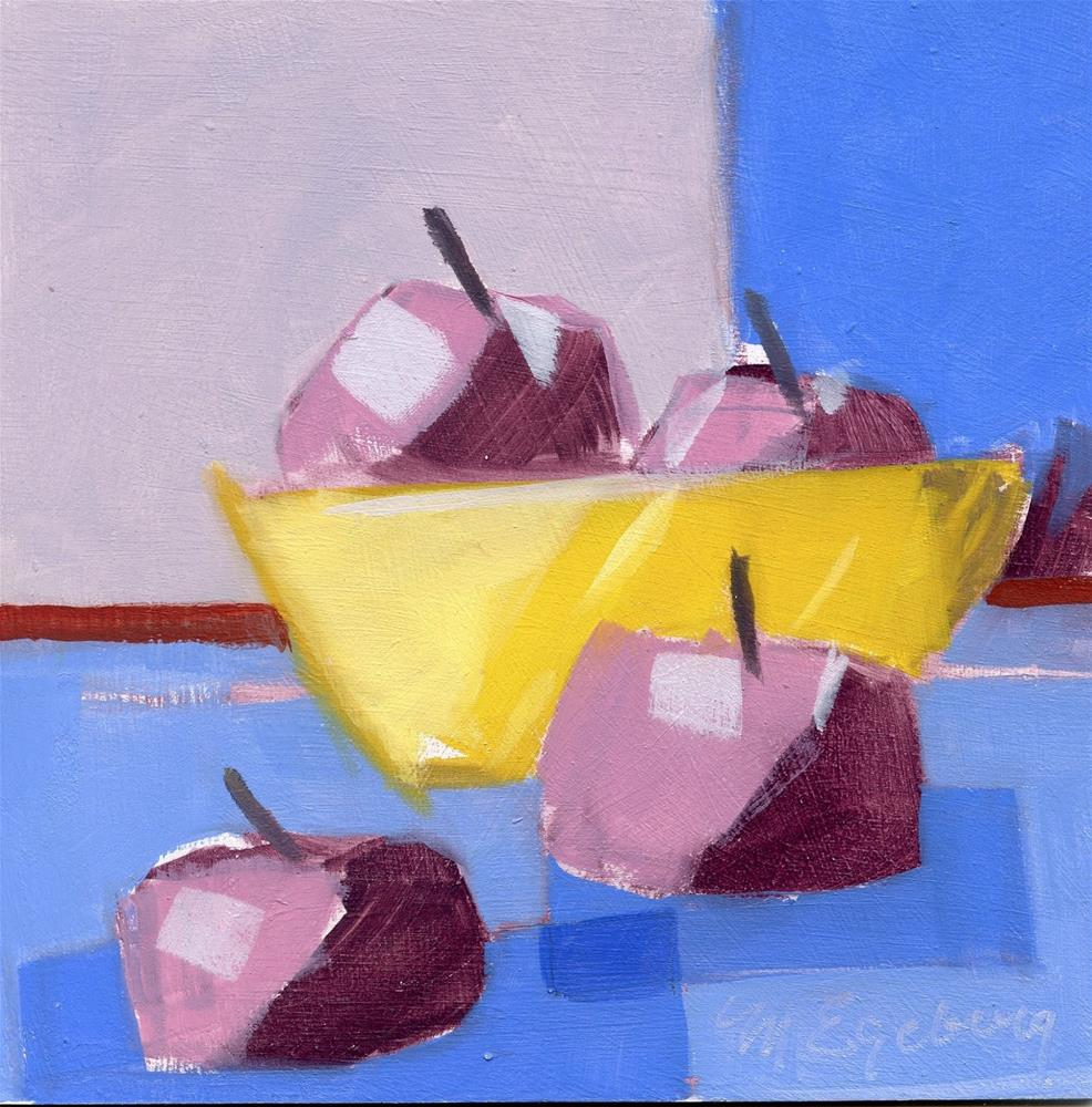 """Crab Apples"" original fine art by Mitch Egeberg"
