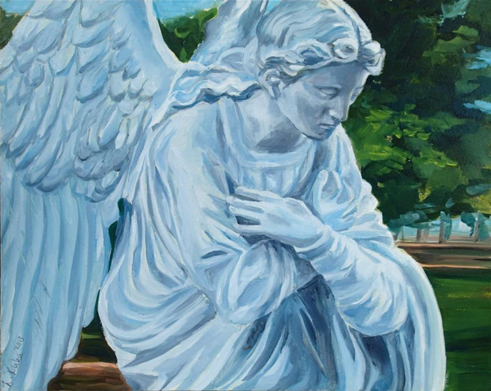 """Angel"" original fine art by Lauren Kuhn"