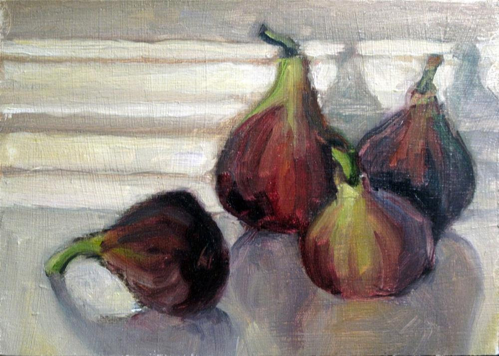 """Figs to go"" original fine art by Myriam Kin-Yee"