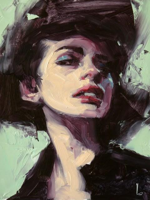 """""""Dreamless"""" original fine art by John Larriva"""