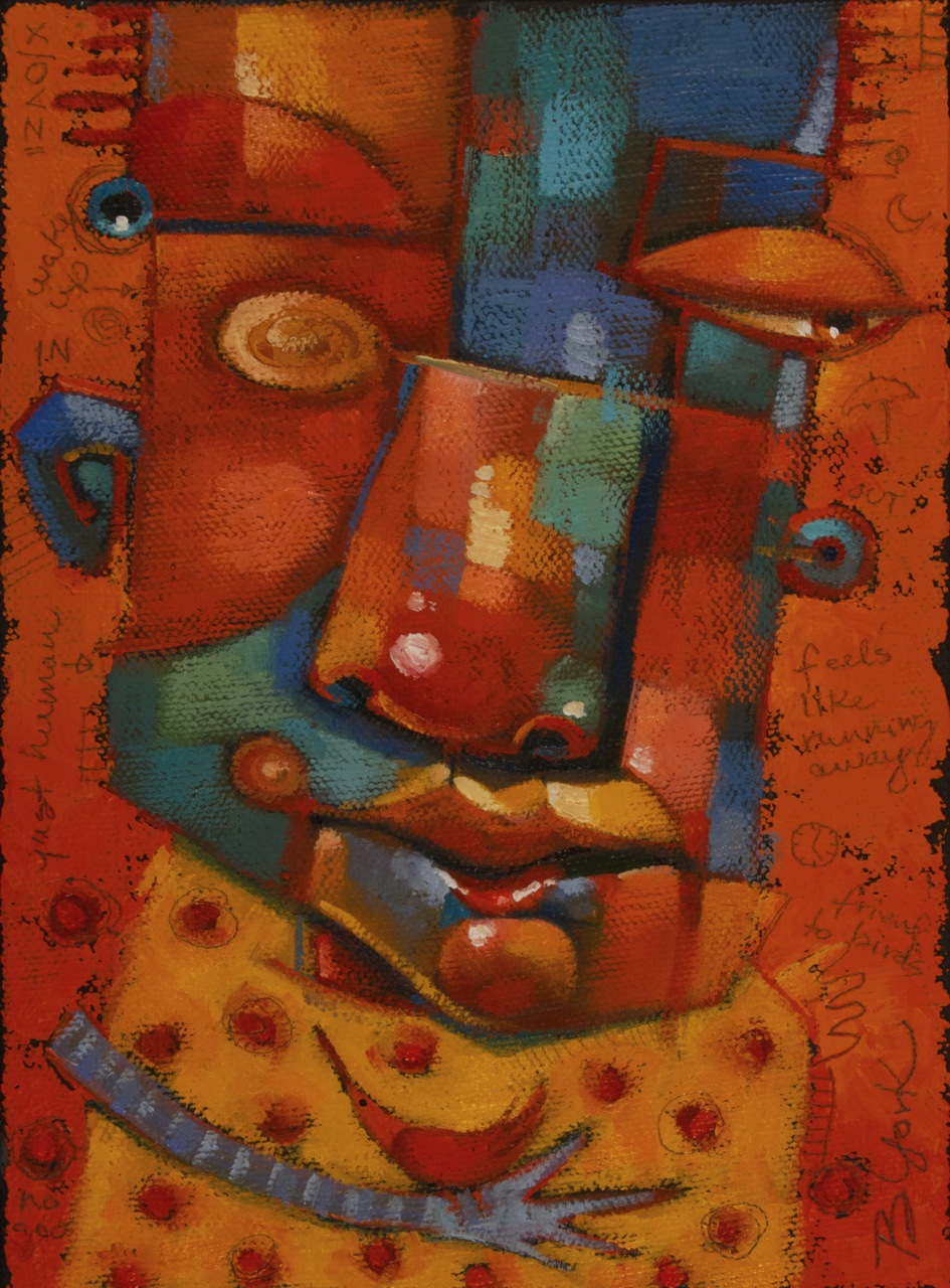 """Fair Weather Friend"" original fine art by Brenda York"