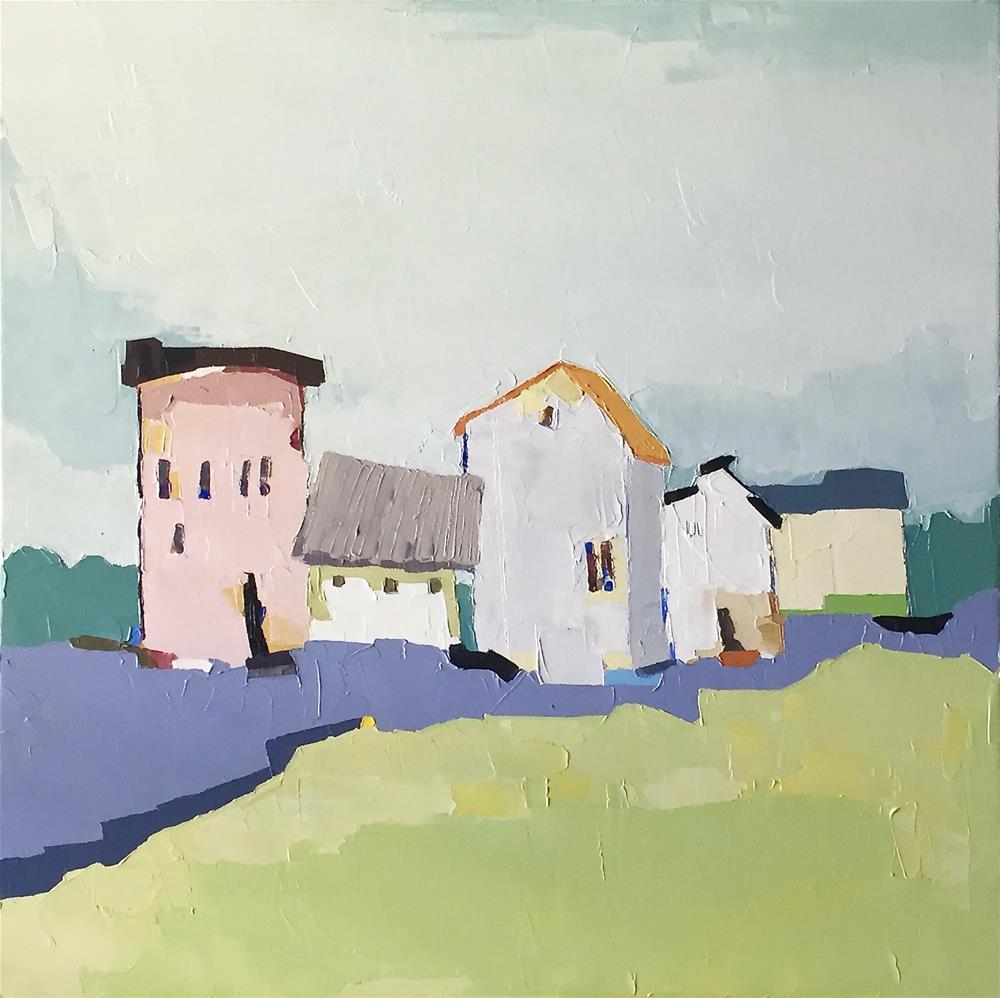 """Quintet"" original fine art by Donna Walker"