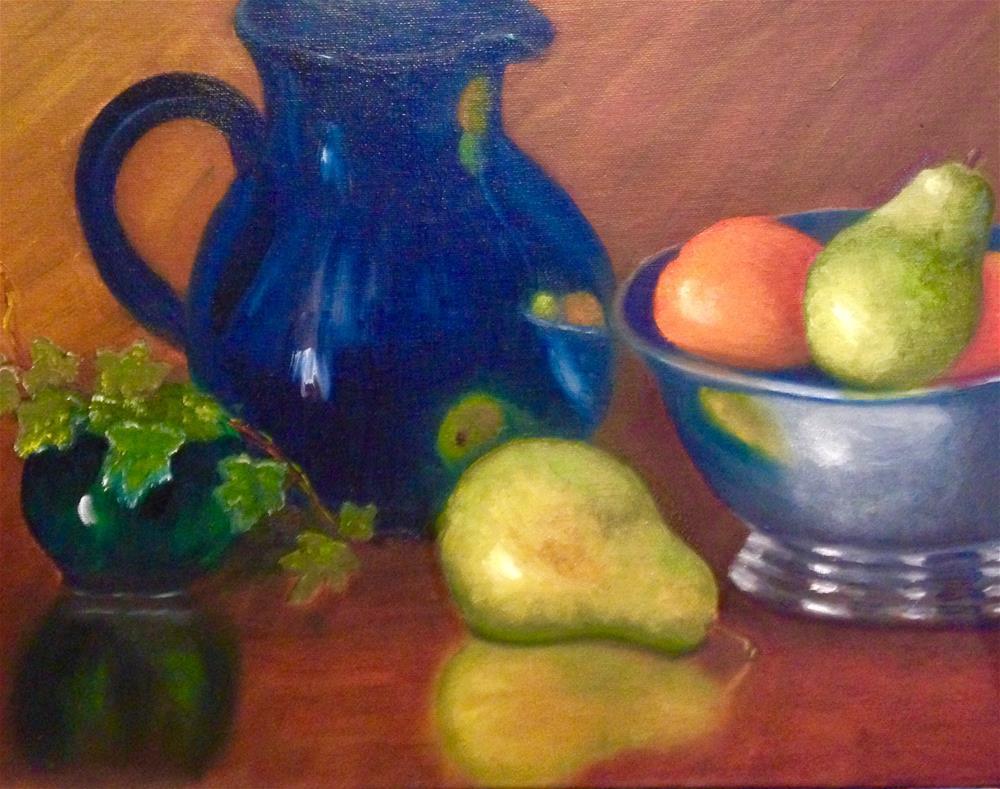 """The Snack"" original fine art by Susan Hoffheimer"