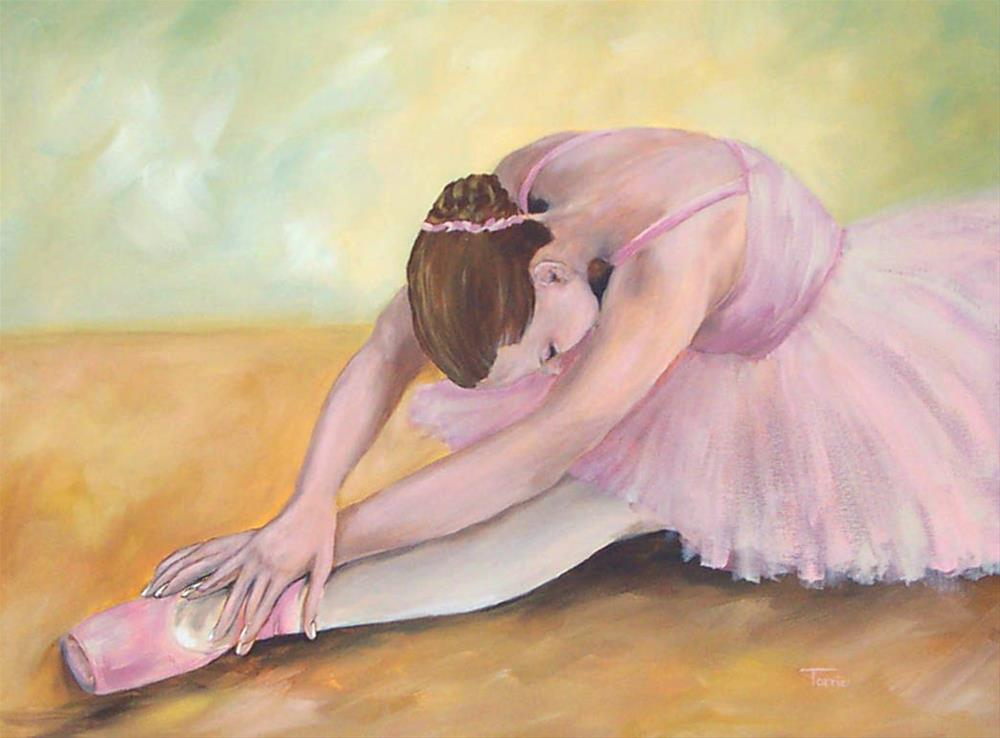 """Before the Ballet"" original fine art by Torrie Smiley"