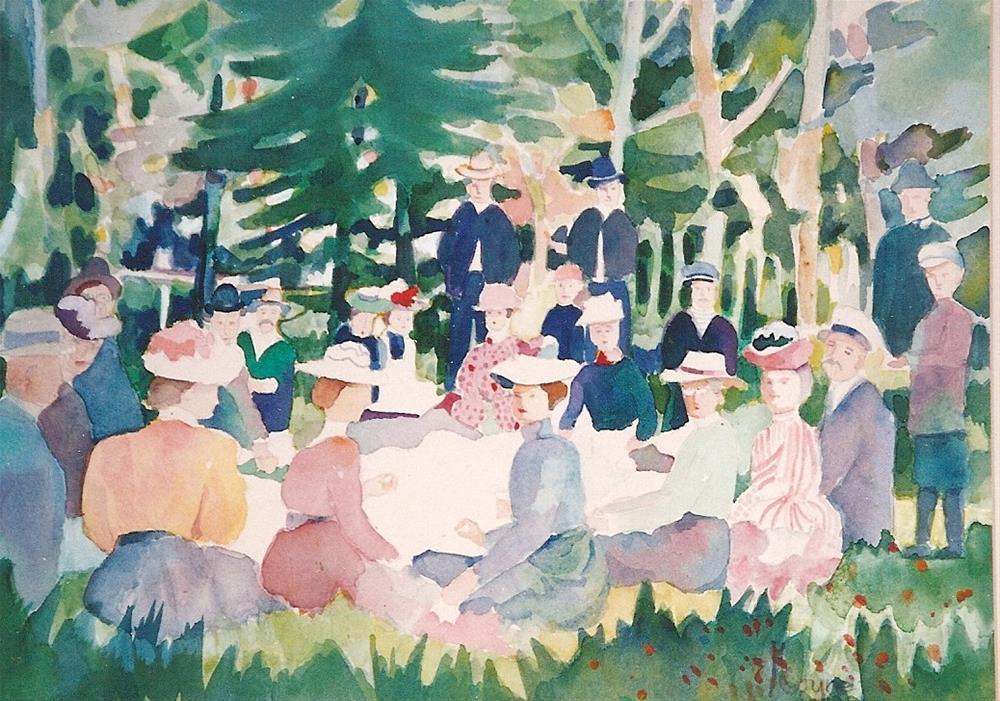 """""""from the album"""" original fine art by meribeth coyne"""