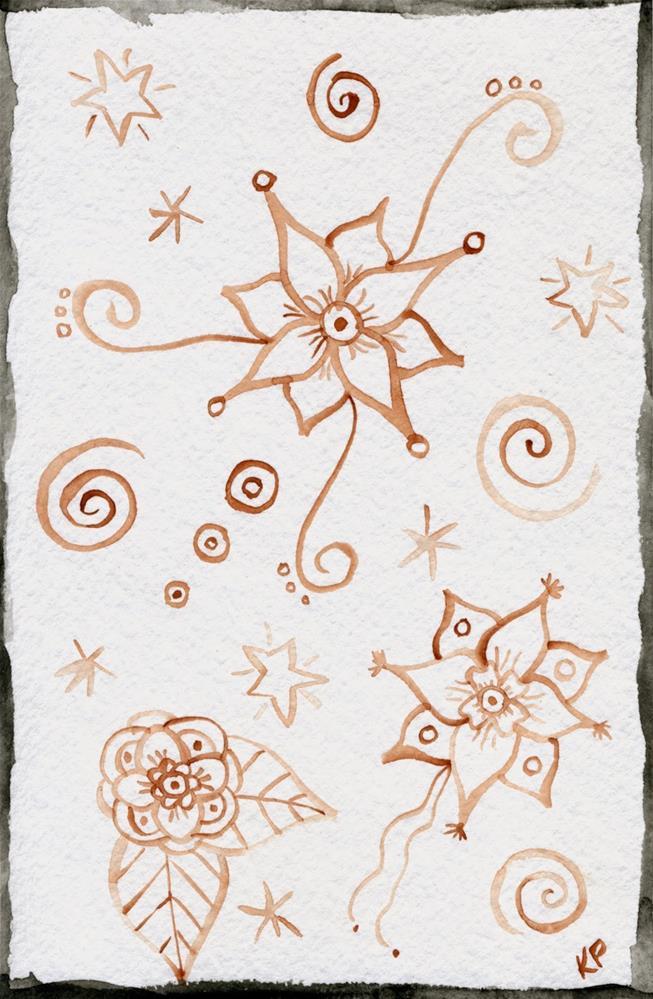 """""""Henna"""" original fine art by Kali Parsons"""