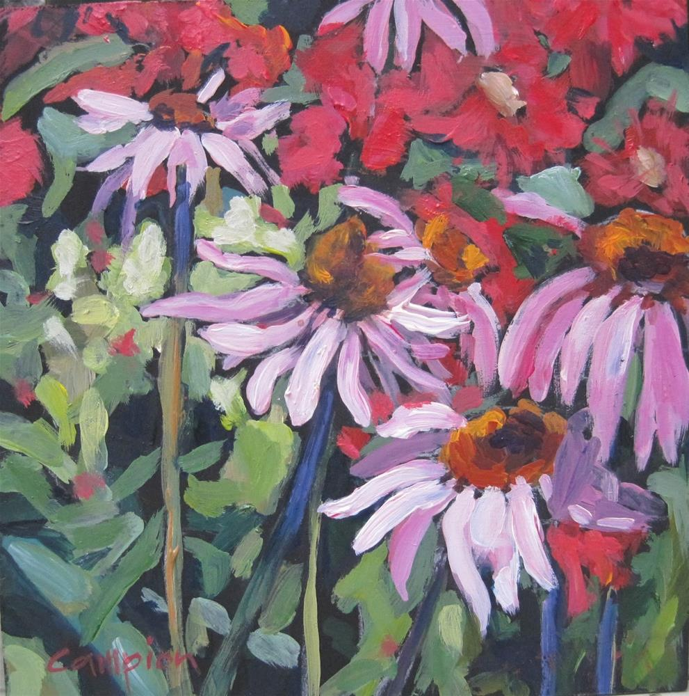 """124 Suzanne's Garden"" original fine art by Diane Campion"