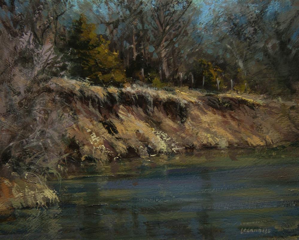 """Banks of the Sand Creek"" original fine art by Joseph Loganbill"