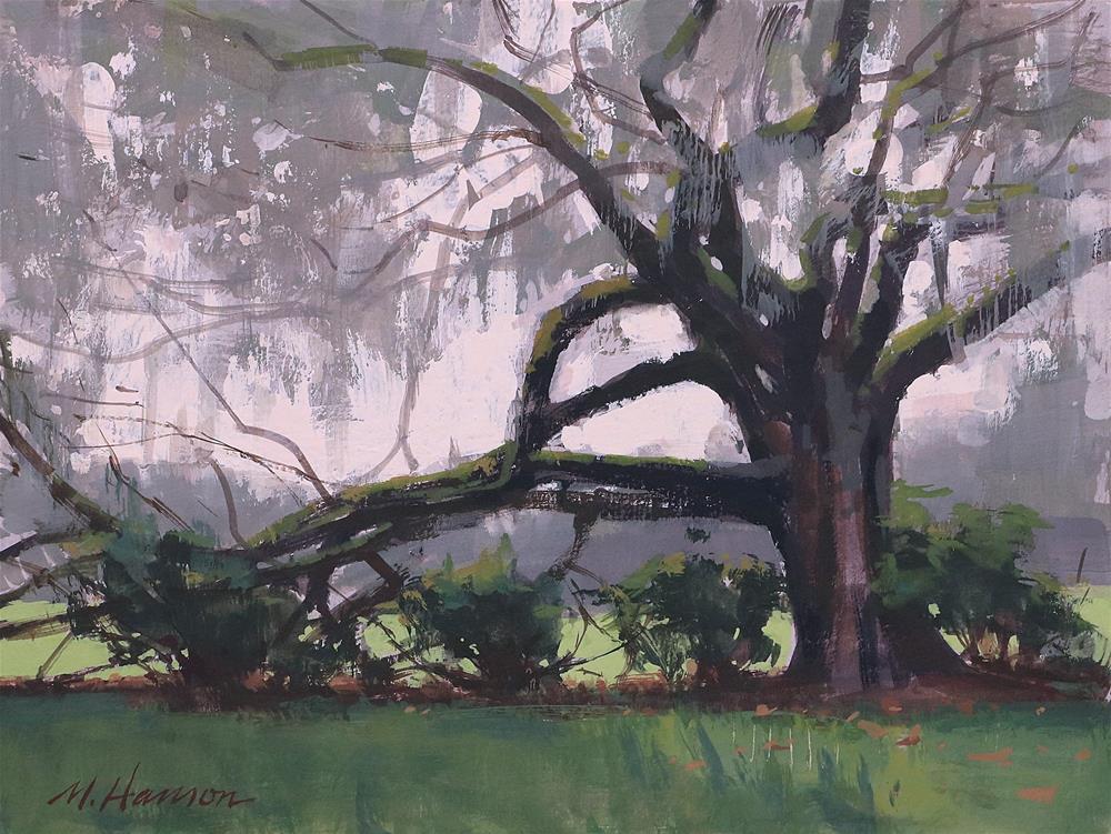 """""""An Old Oak"""" original fine art by Marc Hanson"""