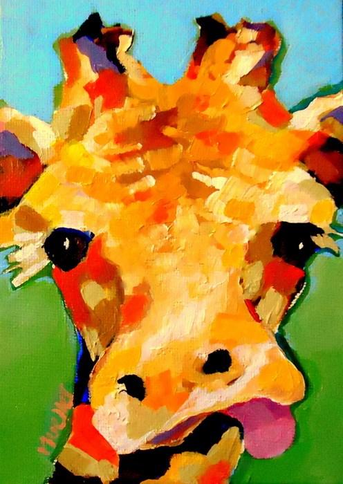 """Elvis"" original fine art by Laurie Mueller"