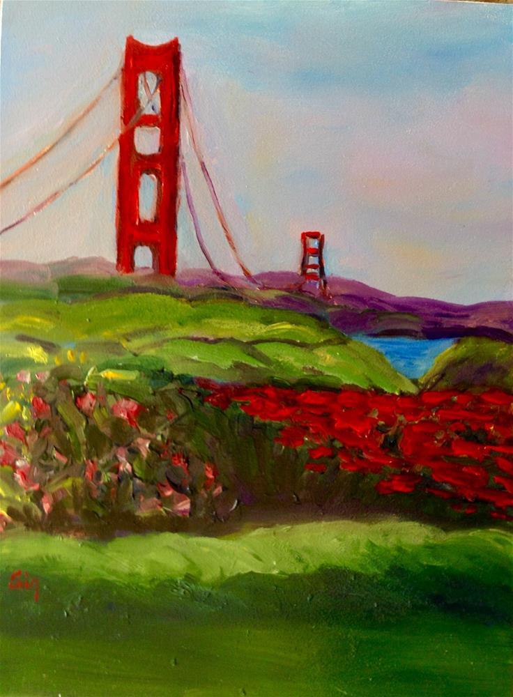 """Gate Peaks"" original fine art by Sigrid Victor"
