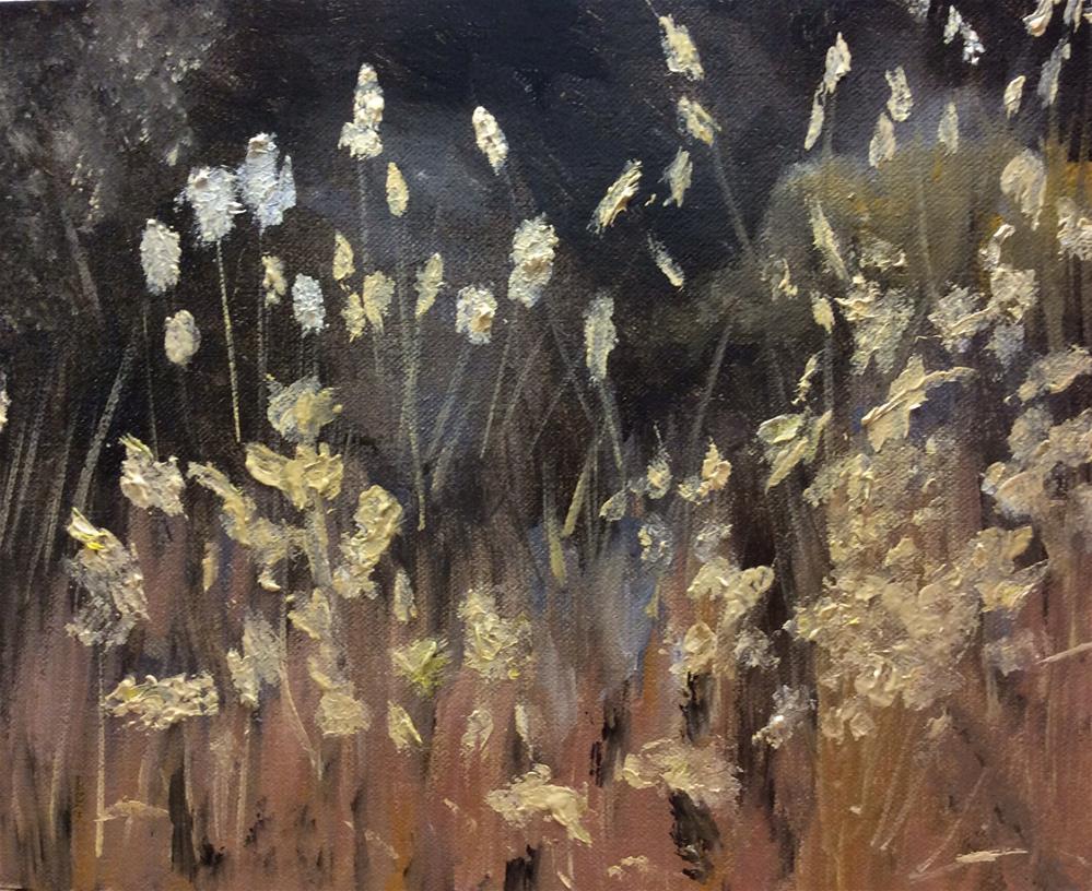 """Nodding in the Breeze"" original fine art by Charlotte Lough"