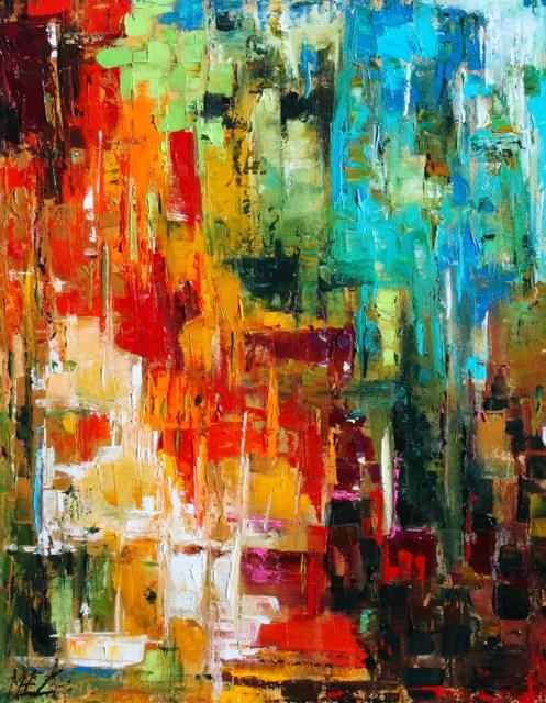 """""""Little Summer"""" original fine art by Elizabeth Chapman"""