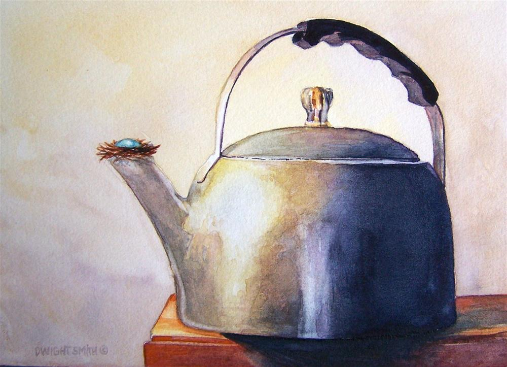 """ THE KETTLE NEST "" original fine art by Dwight Smith"
