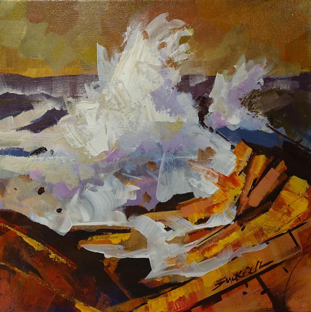"""""""Ocean Power"""" original fine art by Brian Buckrell"""
