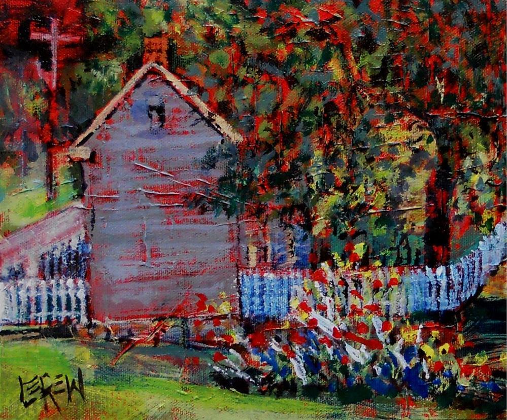 """The Miller's House by Larry Lerew 130831"" original fine art by Larry Lerew"