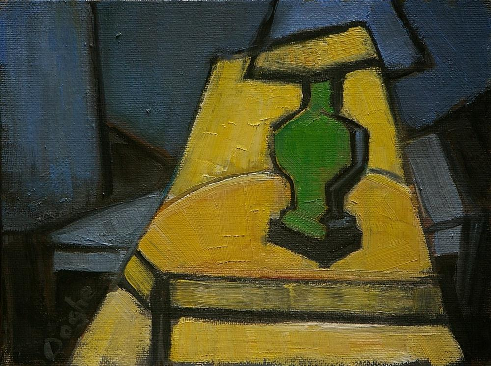 """Geometric Still Life"" original fine art by Angela Ooghe"
