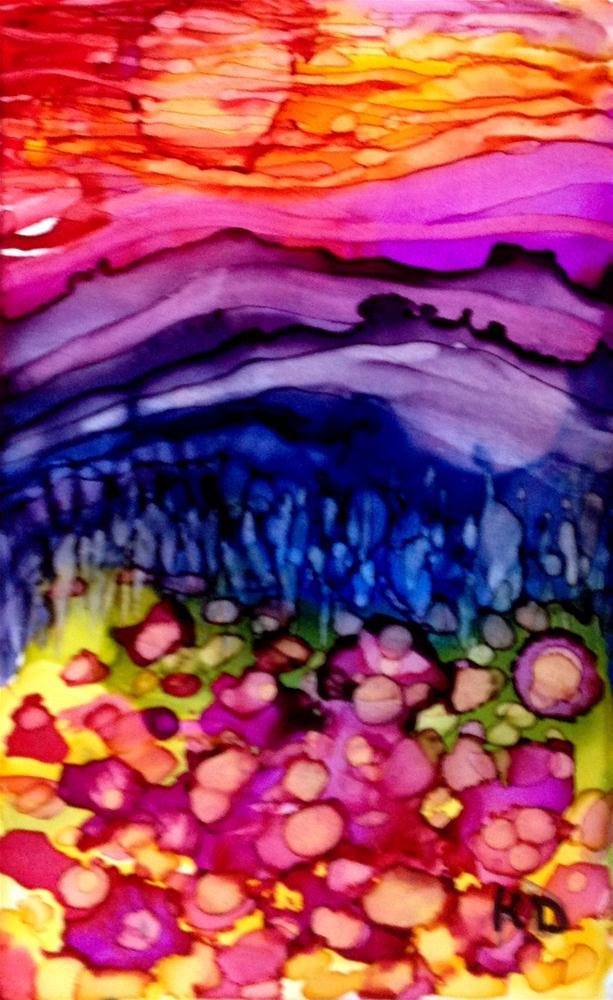 """""""Poppy Field 2"""" original fine art by Kristen Dukat"""